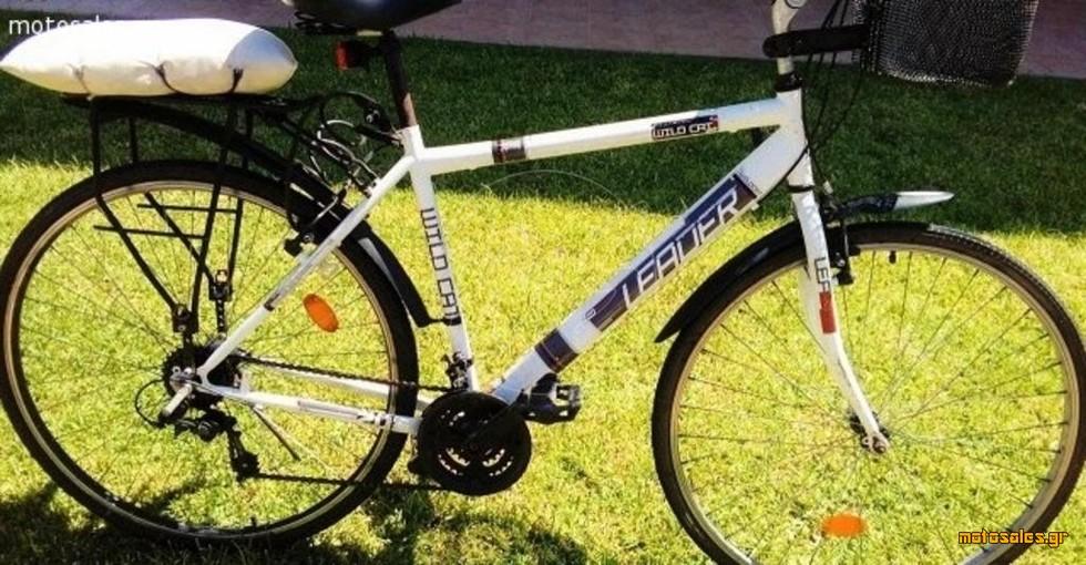 """Πωλείται Μεταχειρισμένο Ποδήλατο  --------  leader-citymen 28""""/clermont-mounten 26"""" του 2000"""