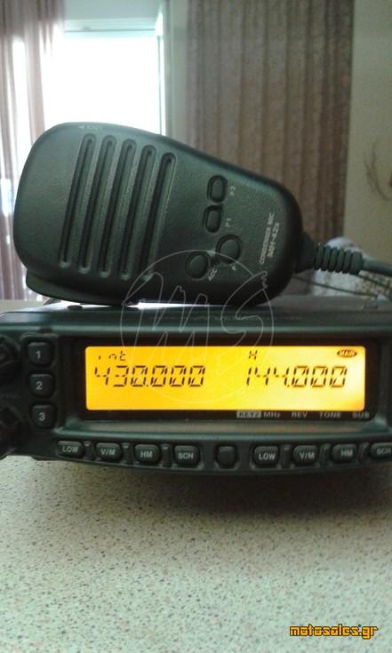 Πωλείται Μεταχειρισμένο - Πομποδέκτης Αυτοκινήτου Yaesu FT - 8900 & Diamond Antenna X-300 (VHF/UHF)