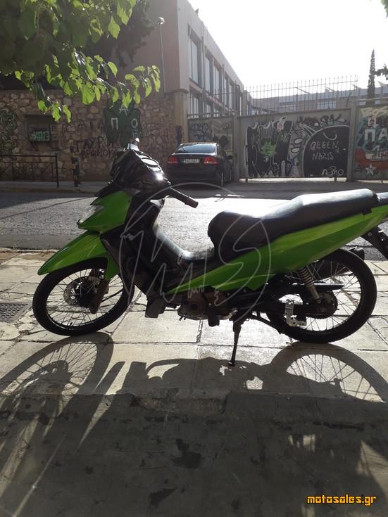 Πωλείται Μεταχειρισμένο Παπάκι Kawasaki ZX 130 του 2007