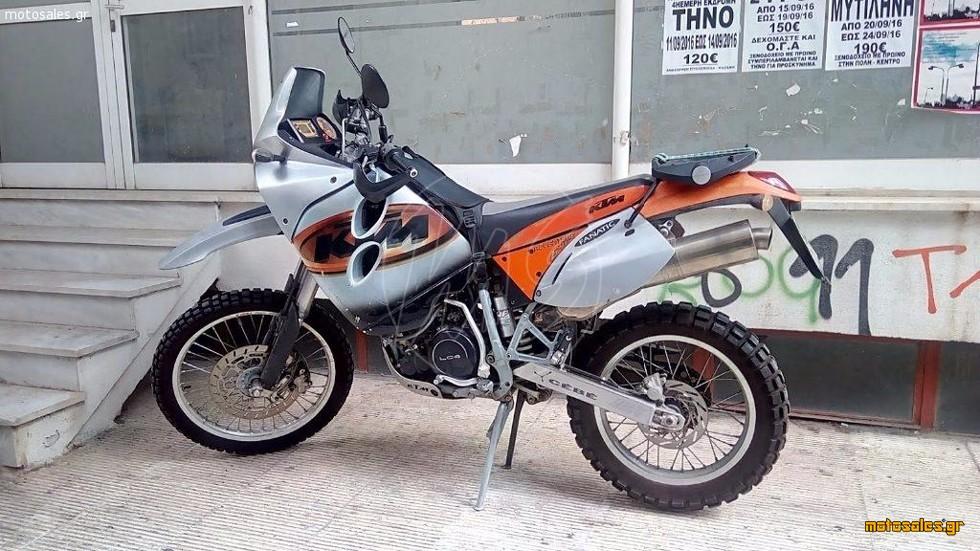 Πωλείται Μεταχειρισμένο On/Off KTM 640 Adventure  R του 2002