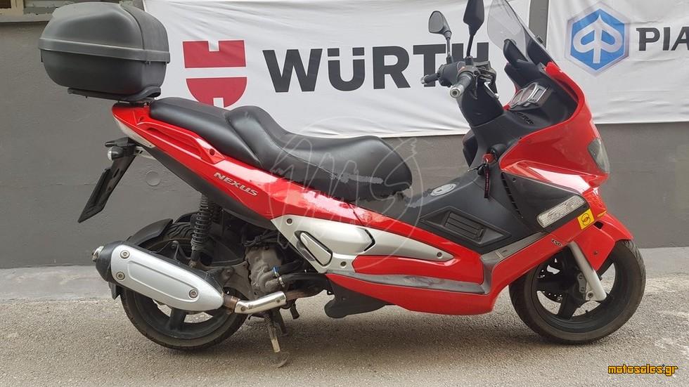 Πωλείται Μεταχειρισμένο Scooter Gilera Nexus 250 SP του 2007