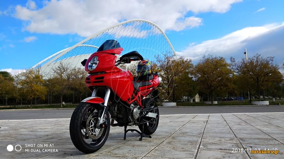 Πωλείται Μεταχειρισμένο Sport Touring Ducati Multistrada 620 του 2017