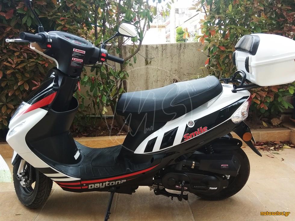 Πωλείται Μεταχειρισμένο Scooter Daytona Smile 50cc του 2019