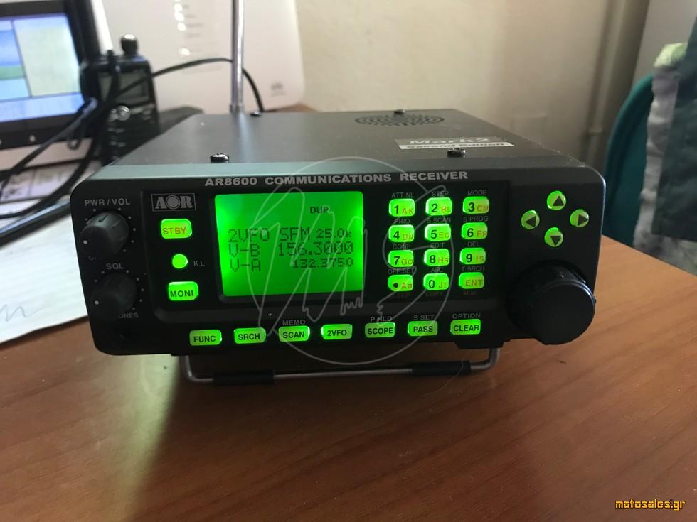 Πωλείται Μεταχειρισμένο - Πομποδέκτης Δέκτες / Scanner AOR AR-8600