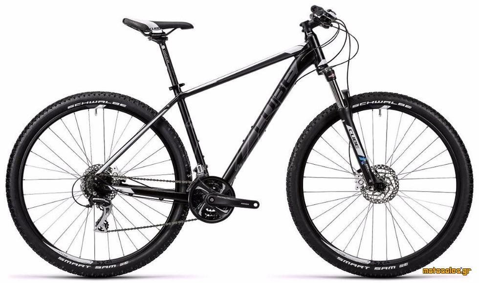 Πωλείται Καινούργιο Ποδήλατο Mountain Cube CUBE AIM SL BLACK N WHITE  του 2016