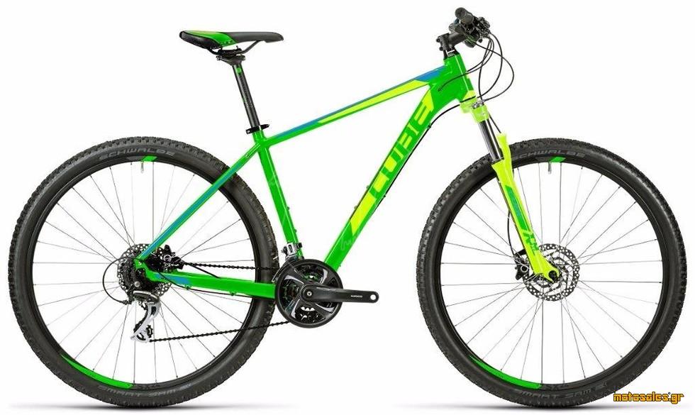 Πωλείται Καινούργιο Ποδήλατο Mountain Cube CUBE AIM SL GREEN N BLUE  του 2016