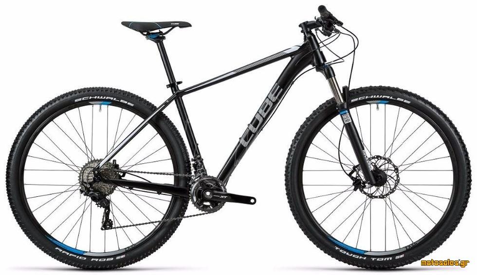 Πωλείται Καινούργιο Ποδήλατο Mountain Cube CUBE LTD PRO 2X 29'' BLACKLINE  του 2016