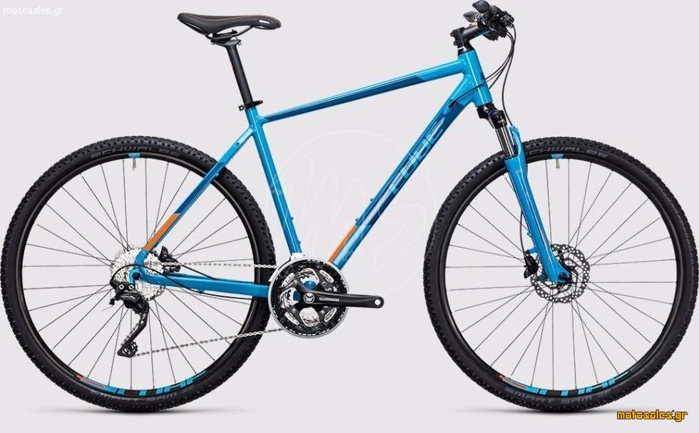 Πωλείται Καινούργιο Ποδήλατο Mountain Cube Cube Nature Pro reefblue´n´flashorange  του 2017