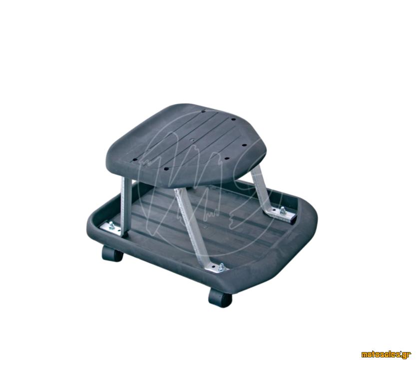 Πωλείται Καινούργιο εργαλείο -  Κάθισμα εργασίας με θήκη αποθήκευσης για εργαλεία κάτω από το κάθισμα. KRAFTMANN