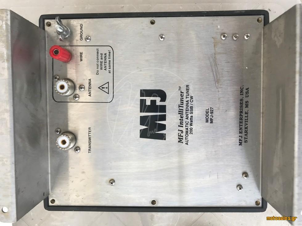 Πωλείται Μεταχειρισμένο - Tuner / Coupler / Συντονιστικό MFJ MRJ-927