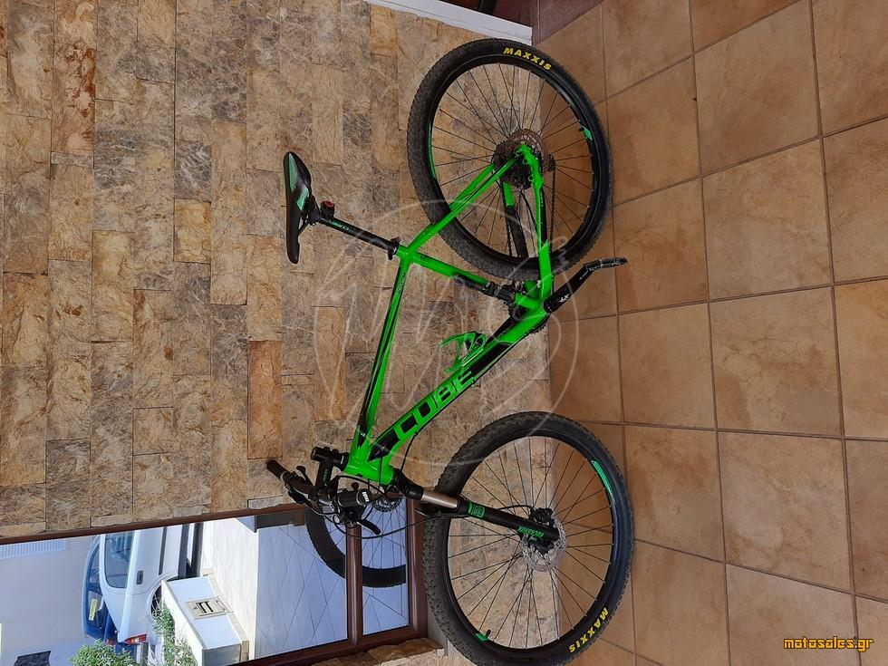 Πωλείται Μεταχειρισμένο Ποδήλατο Mountain Cube  Attention SL του 2015