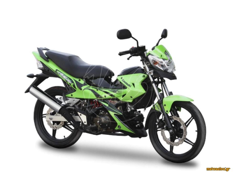 Πωλείται Καινούργιο Παπάκι Kawasaki ATHLETE 125 SPECIAL EDITION του 2017