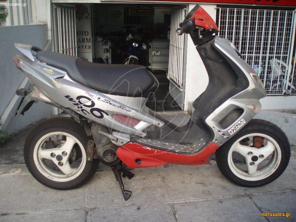 Πωλείται Μεταχειρισμένο Scooter Peugeot SPEEDFIGHT 100 του 2002