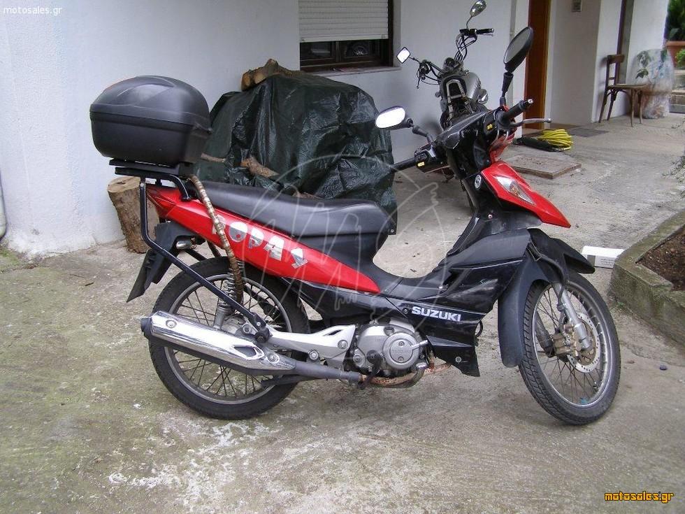 Πωλείται Μεταχειρισμένο Παπάκι Suzuki adress του 2007