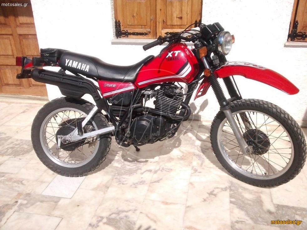 Πωλείται Μεταχειρισμένο Enduro Yamaha XT-550 του 1983